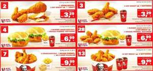 [Lokal] KFC Braunschweig Gutscheine zur Neueröffnung ab 3,29€. Gültig bis 04.11.12