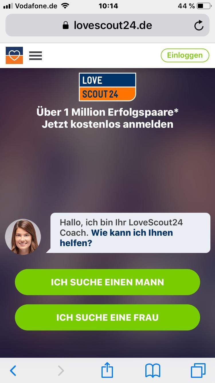 30% LoveScout24 Gutschein auf die Premium-Mitgliedschaft