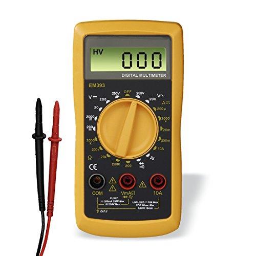 [Amazon] Hama Digital Multimeter (Spannungsmesser, Stromprüfer, Widerstand)