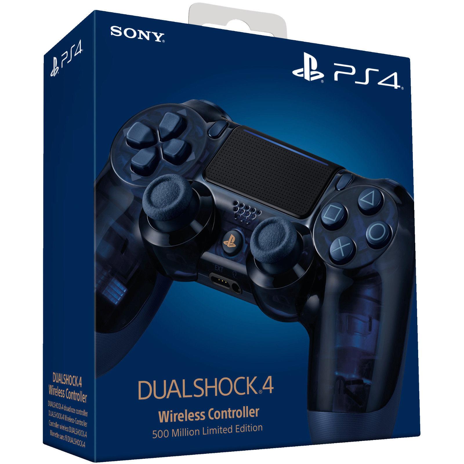 SONY PS4 Wireless Dualshock - 500 Million Limited Edition (Media Markt und Saturn) // alle anderen Farben ab 36,99€ (auch Otto)