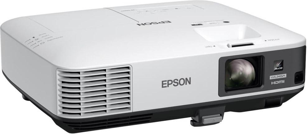 LCD-Beamer Epson EB-2250U (1.920x1.200 Pixel, 16:10, 5000 Lumen, 2x HDMI, DisplayPort, 2x VGA, 2x USB 2.0, LAN, WLAN)