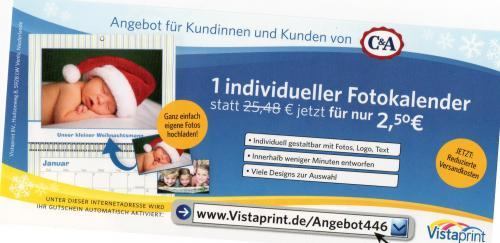 Fotokalender für 8,75€