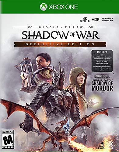 Mittelerde: Schatten des Krieges Definitive Edition (Xbox One) für 22,23€ (Amazon.com)