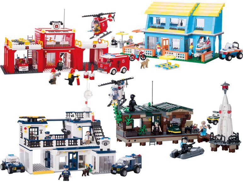 Lego Klon von Lidl:  Playtive Polizeistation 19,99€ usw