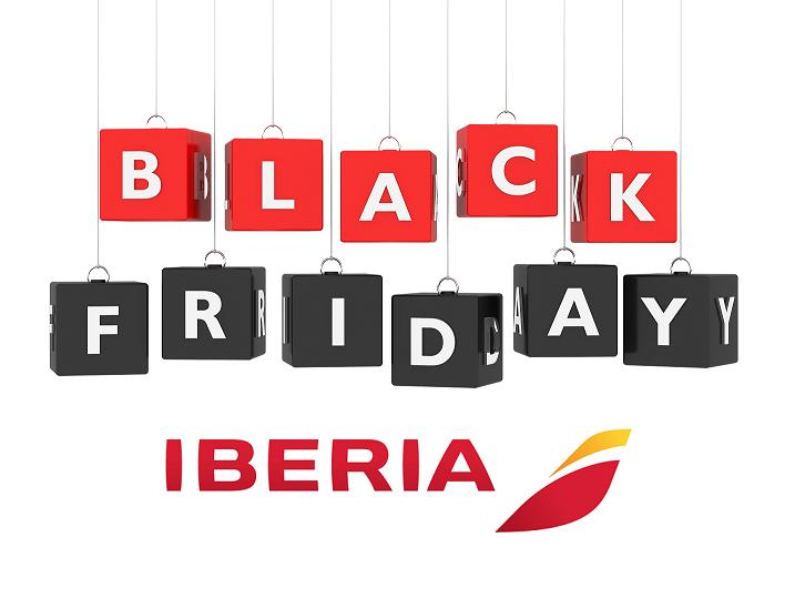 Iberia: Ermäßigte Flugpreise weltweit zum Black Friday