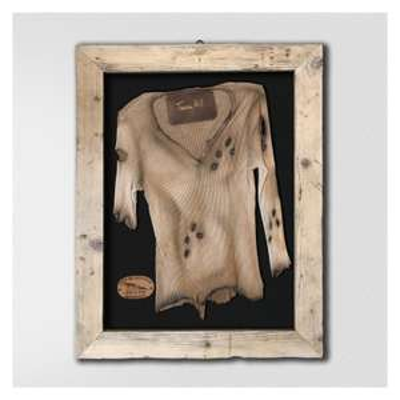 Terence Hill Shirt im Vintage Holzrahmen mit Original-Unterschrift (Limitiert)