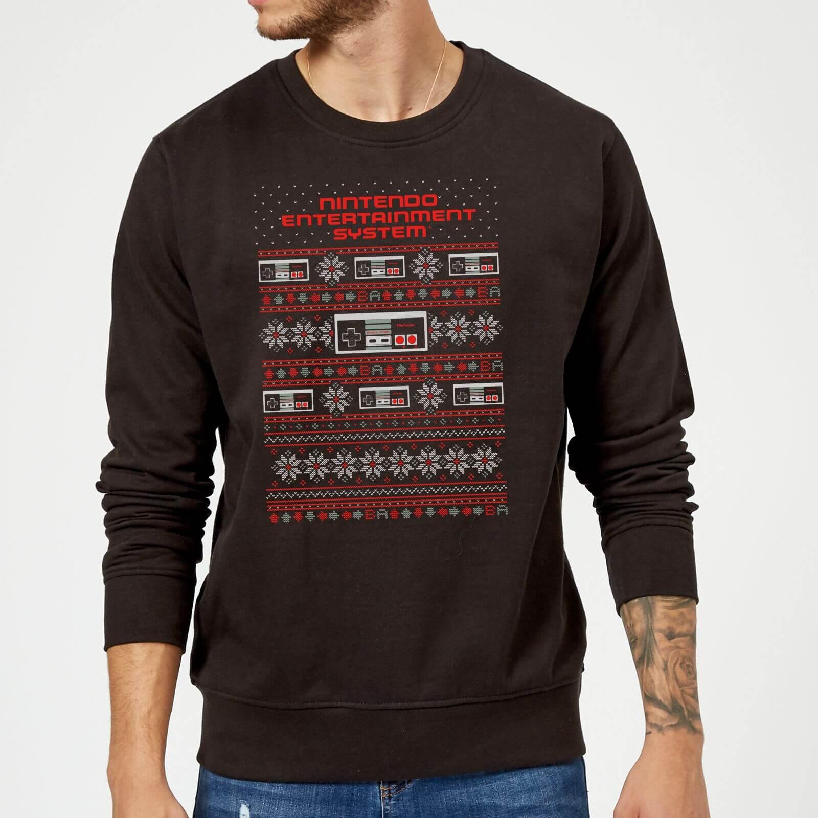 Weihnachtspullover (vier Motive, jeweils Männlein und Weiblein, S bis XXL)