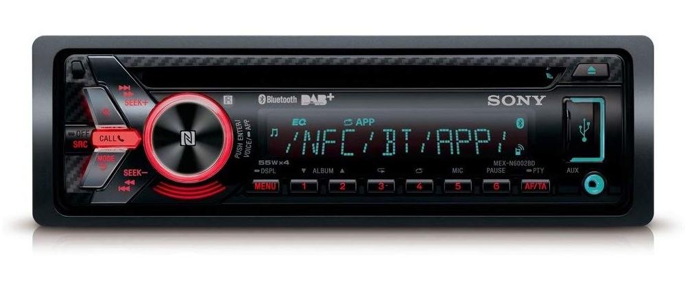 Sony MEX-N6002BD Autoradio mit DAB+ Tuner, Bluetooth, USB/AUX, NFC, Sprachsteuerung iPhone & Android, 1-DIN, 4 x 55 Watt [ATU@eBay]