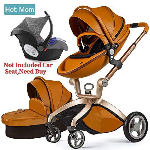 Hot Mom Kombikinderwagen mit Buggyaufsatz und Babywanne