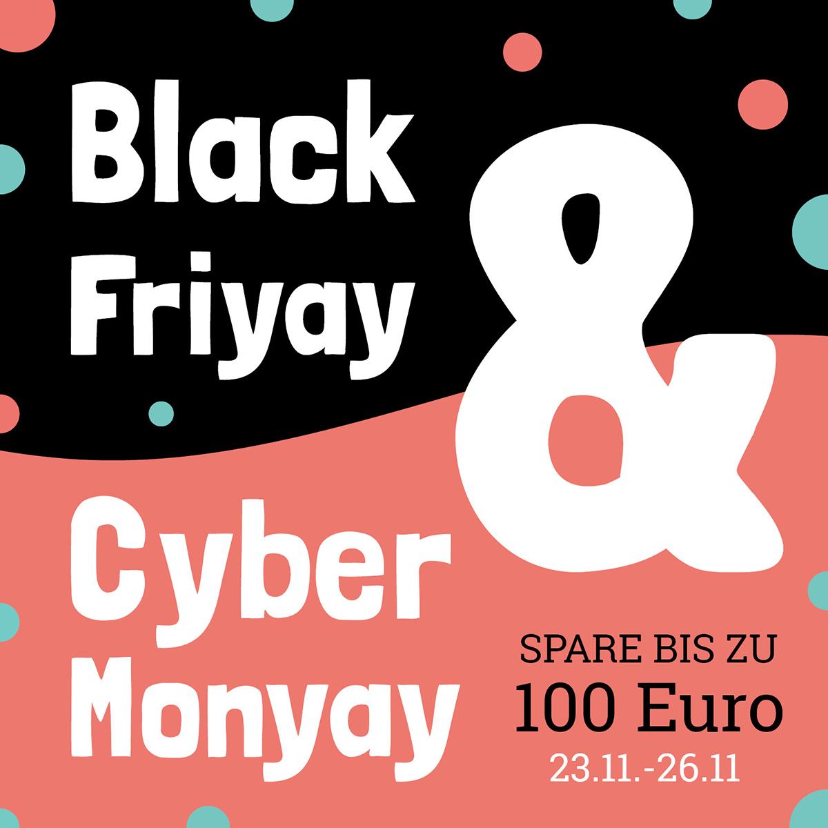 FamilienBande Cyber Aktion - BIS ZU 100€ sparen