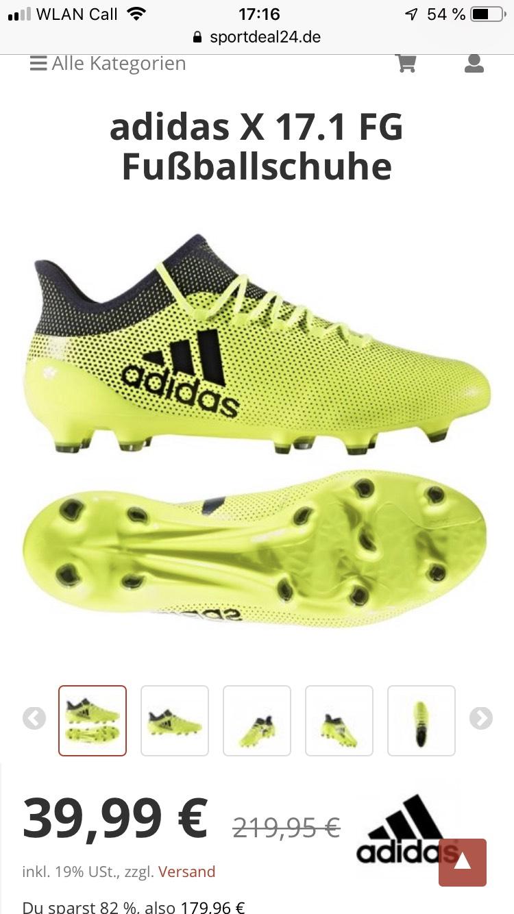 Adidas X 17.1 zum Superpreis