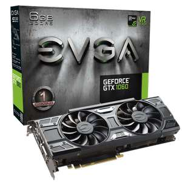 EVGA GeForce GTX 1060 Gaming ACX 3.0 für 209,98€