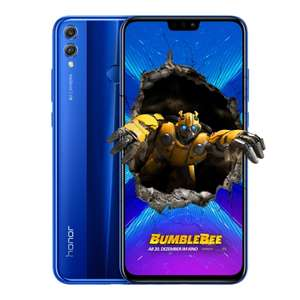 [Black Friday] Honor 8X Schwarz/Blau 64GB + Band 4 Running