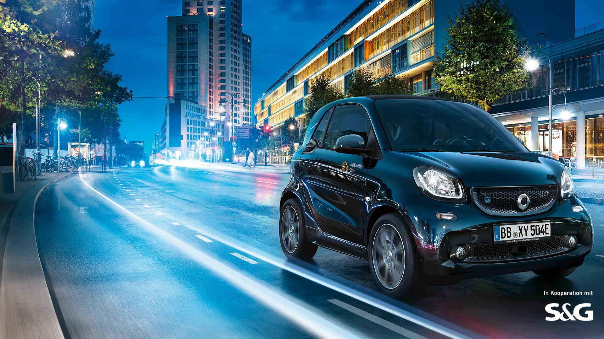 Smart EQ fortwo Leasing für 174€