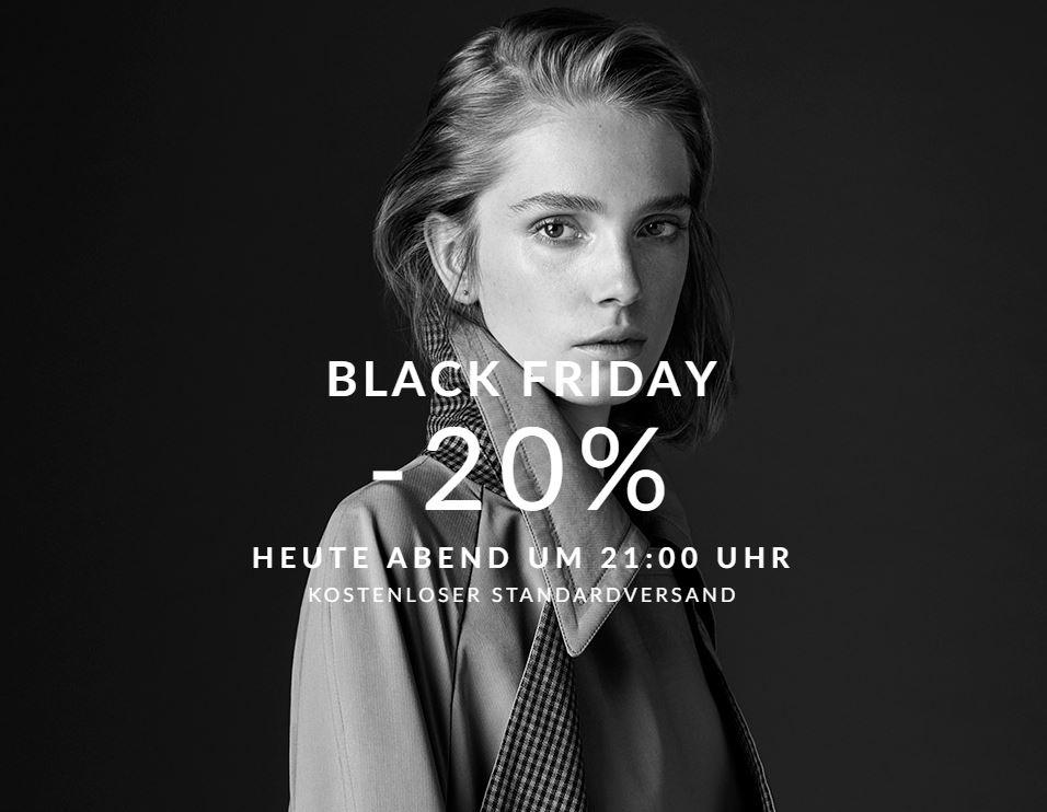 [Massimo Dutti] Black Friday | 20% auf das Sortiment ab 21:00 Uhr!