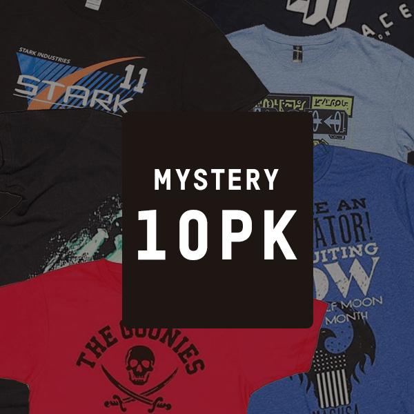Black Friday bei Zavvi gibt es wieder lizenzierte Mystery Geek T-Shirt 10er-Pack für 22,99 Euro