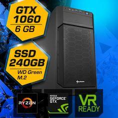 Gamer PC mit Ryzen 5 und GeForce GTX1060 6 GB