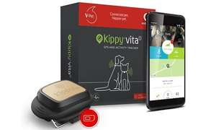 Vodafone - Kippy-Vita GPS-Hundetracker inkl. Vodafone-V-SIM und 12 Monate Datenpaket von Vodafone