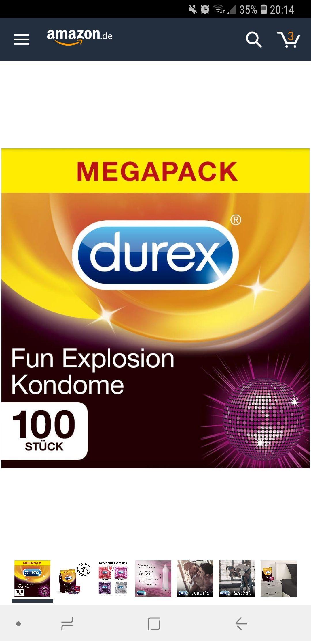 Durex Fun Explosion 100er Dose (Amazon)
