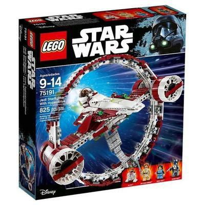 LEGO Star Wars - Jedi Starfighter with Hyperdrive (75191) + 2× Lego (30381) Imperial The Fighter kostenlos für 59€ (Cdiscount)
