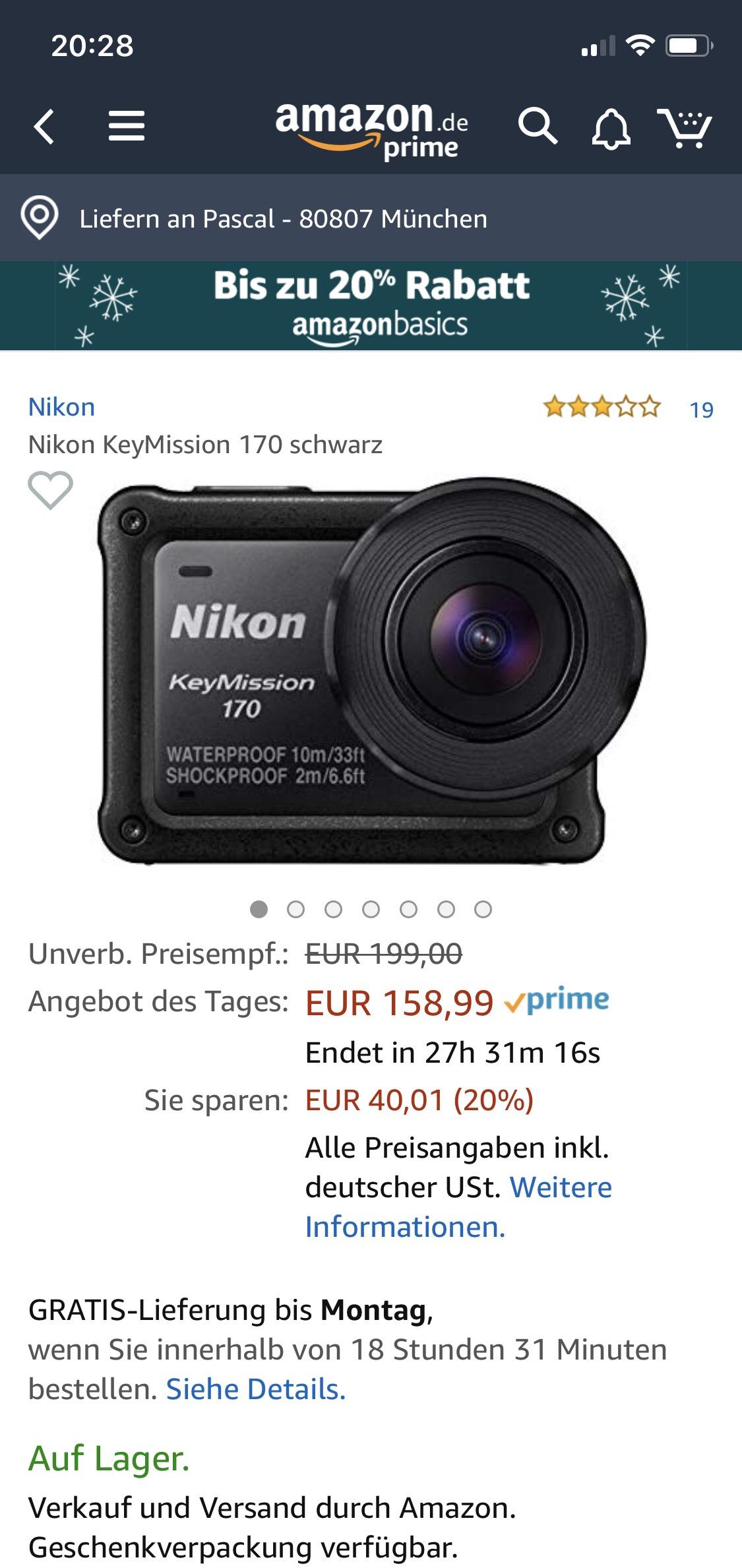 Nikon Key Mission 170