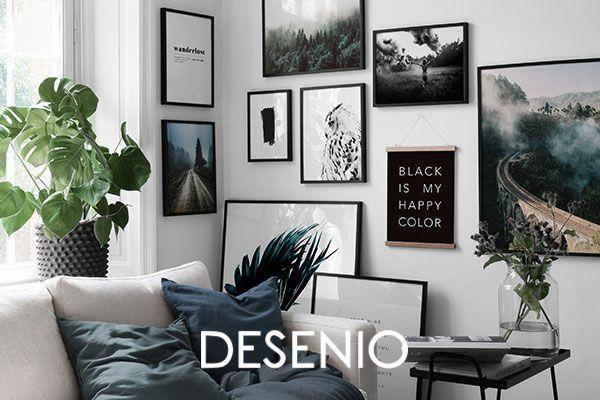 40% bei Desenio (Poster, Bilderrahmen, etc.) bis 00:00 Uhr