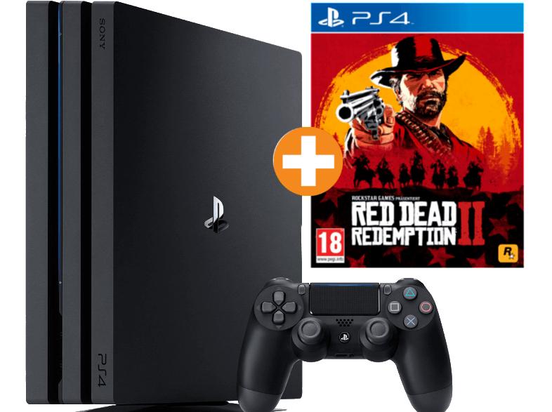 [Österreich] SONY PlayStation 4 Pro 1TB Schwarz + Red Dead Redemption 2 für 353,99€