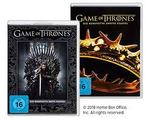 (Aldi Sued) Game of Thrones DVD Staffel 1 - 4 je 9,99 ab 29.11