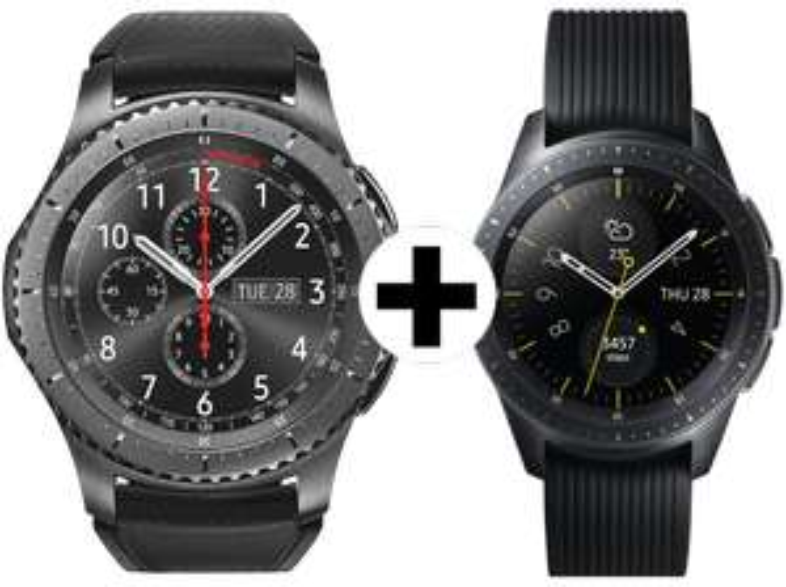 42mm Samsung Galaxy Watch + Gear S3 Frontier [Media Markt AT via DA-Packs]