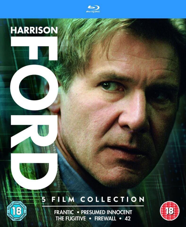Harrison Ford 5 Filme Blu-ray Box komplett auf deutsch für 10,03€