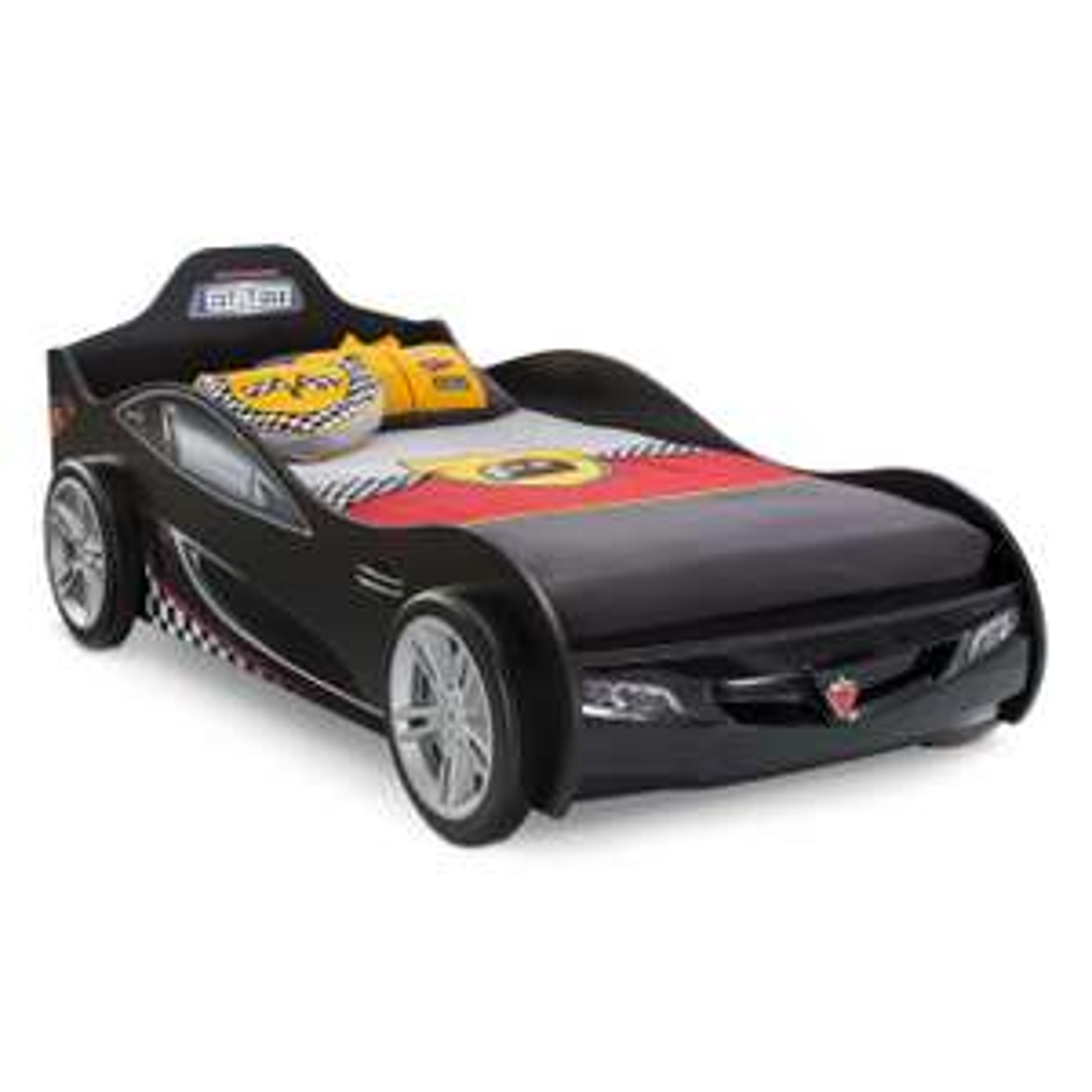 "Kinder-Autobett ""Coupe"" in schwarz inkl. Versand [SEGMÜLLER]"