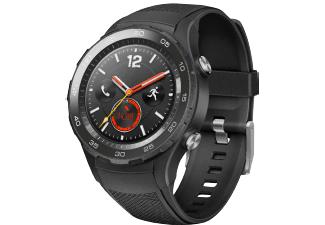[Saturn/Amazon] Huawei Watch 2, Smartwatch, Kunststoff, 140-210 mm, Carbon Schwarz