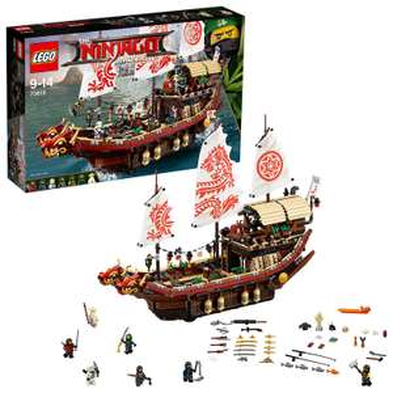 LEGO Ninjago 70618 Ninja-Flugsegler für 76€ inkl. Versand [amazon.co.uk] Bestpreis