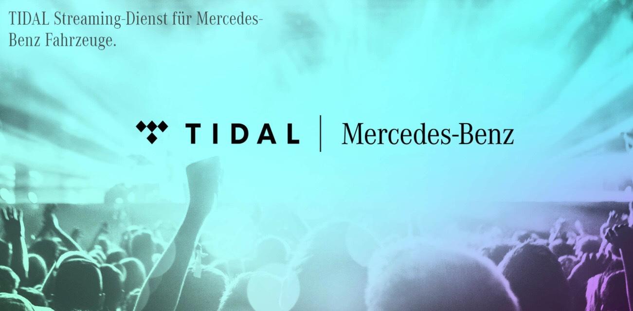 TIDAL HiFi 1 Jahr kostenfrei für Mercedes-Benz Kunden über Mercedes.ME