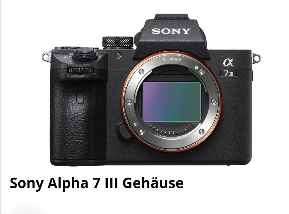 Black Friday Kracher  Sony Alpha 7 III Body Media Markt Ludwigsburg