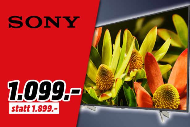 [LOKAL] [MediaMarkt Leipzig] Sony KD-70XF8305 70 Zoll UHD-TV mit 100Hz nativ und HDR10 für 1099€