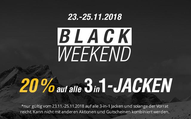 Jack Wolfskin 20% Rabatt auf alle 3in1 Jacken