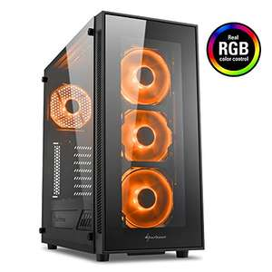 [Amazon Prime/ Alternate] Sharkoon TG5 RGB ATX Tower/PC Gehäuse [Black Friday]
