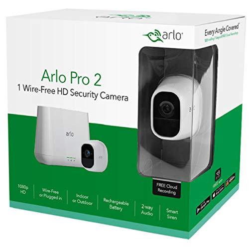 Netgear Arlo Pro 2 Kit - 4 Kameras Set für 727€ (VGL: 1050€) / Einzelkamera: 183€ (230€) @Amazon.fr