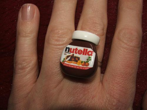 Endlich: NUTELLA Ring für 13,00€ bei ebay.co.uk!