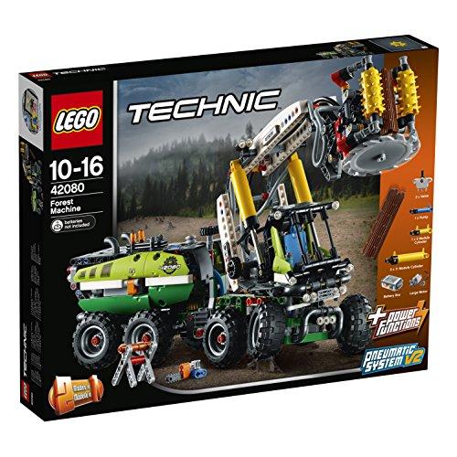 LEGO Technic - Harvester-Forstmaschine (42080) für 83.02€ [amazon.fr]