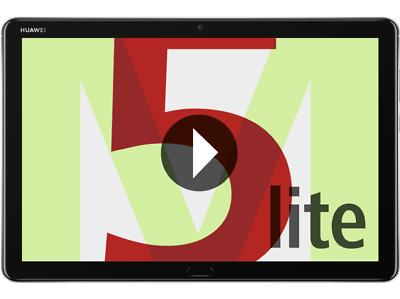HUAWEI MediaPad M5 lite 32 GB 10.1 Zoll Tablet Grau