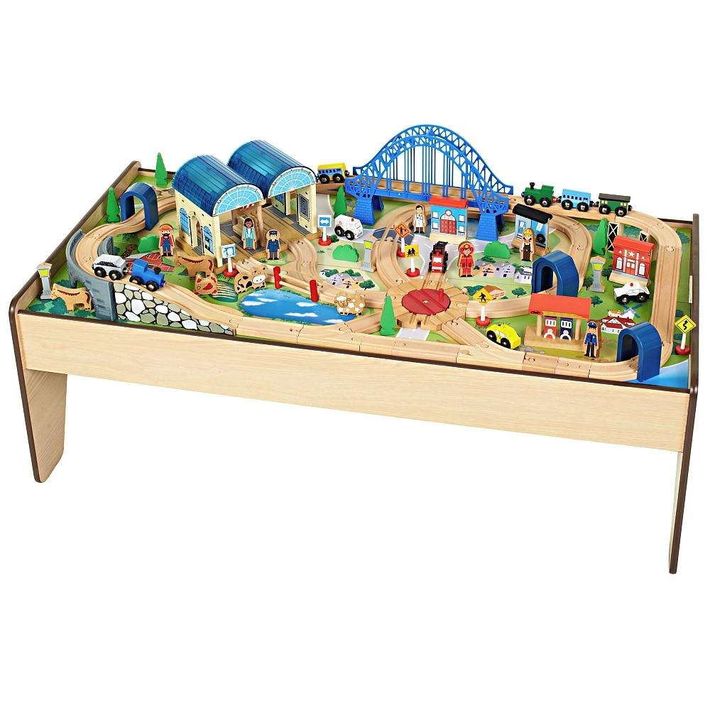 Spieltisch Mit Holzeisenbahn Inklusive Versand Mydealzde