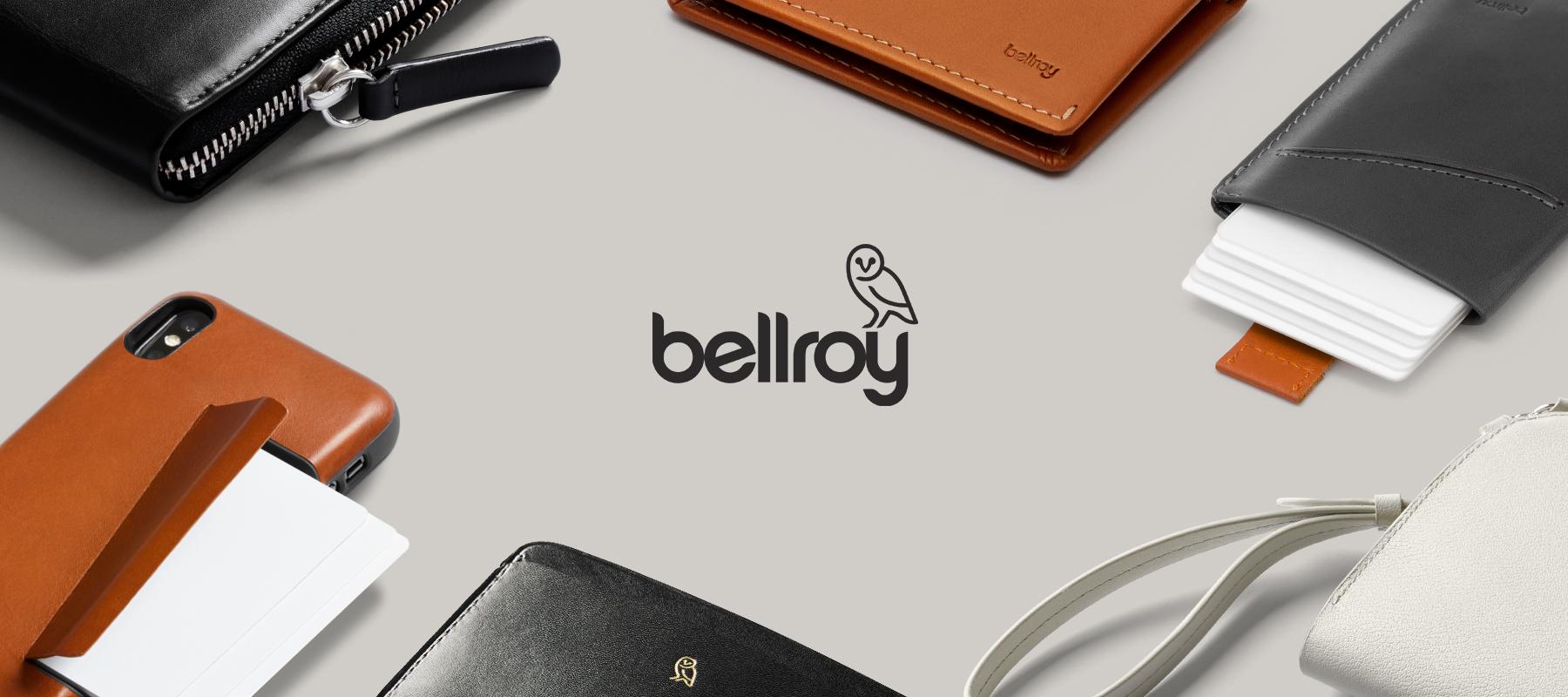 15 Euro Rabatt bei Bellroy - iPhone / Google Pixel 2 und 3 Leder-Schutzhüllen (24 Euro / 30 Euro) sowie Brieftaschen und Taschen