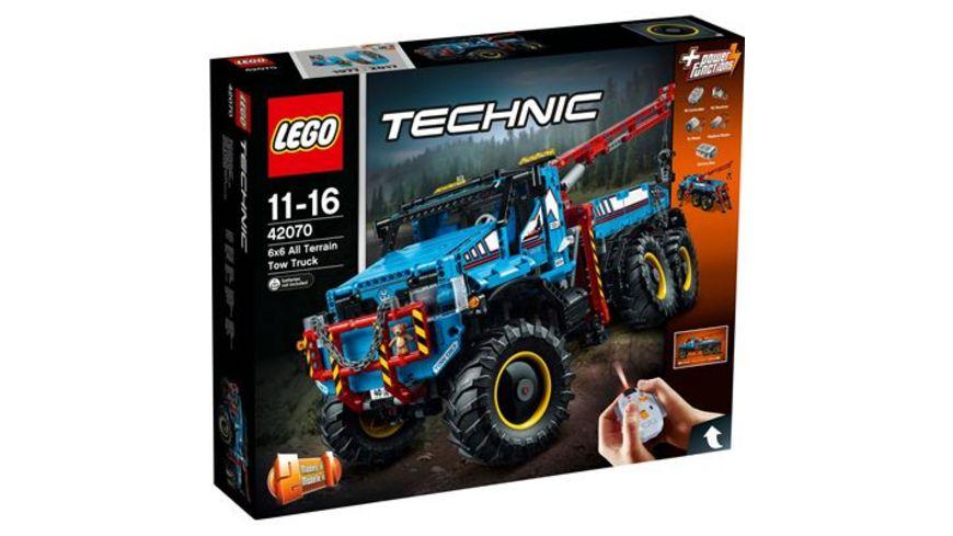 [Müller Lego Sammeldeal] z.B. 42070 Allrad-Abschleppwagen