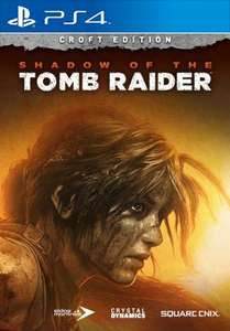 Shadow of the Tomb Raider Croft Edition (PS4) bei Square Enix im Shop