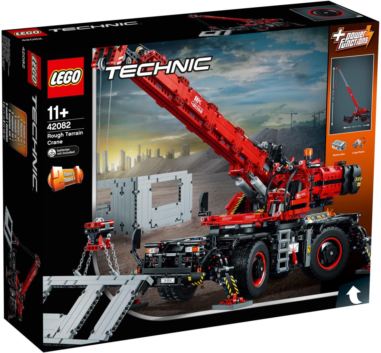 LEGO Technic 42082 - Geländegängiger Kranwagen bei Müller für 151,20 € (UVP 229,99)