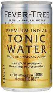 [Amazon Spar-Abo] Fever-Tree Indian Tonic Water 24 x 150 ml (0,45€ pro Dose)