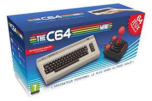The C64 Mini für 40,71€ (Amazon FR)