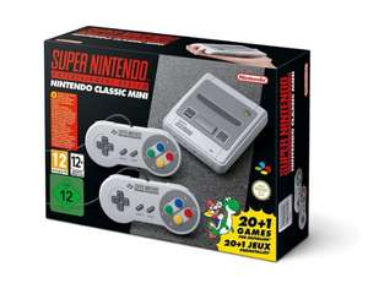 Super Nintendo Classic Mini SNES für 59,99 € [online bei ak trade]